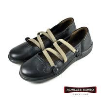【Achilles SORBO】休閒芭蕾舞鞋 黑色(SRL1640-BL)