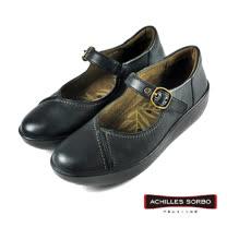 【Achilles SORBO】雅緻休閒娃娃鞋/女鞋 黑色(SRL2440-BL)