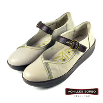 【Achilles SORBO】雅緻休閒娃娃鞋/女鞋 白色(SRL2440-WH)
