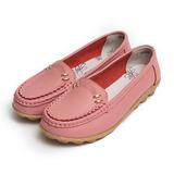 (女) US CARDON 金釦花邊休閒鞋 粉 鞋全家福