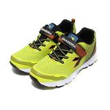 (大童) DIADORA 黏帶輕量運動鞋 螢光綠 鞋全家福