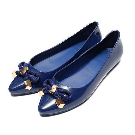 (女) RED ANT 果凍系淑女鞋 藍 鞋全家福