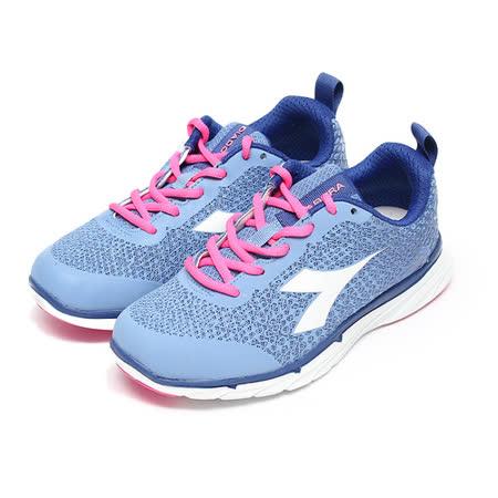 (女) DIADORA EASY RUN 透氣輕量慢跑鞋 藍 鞋全家福