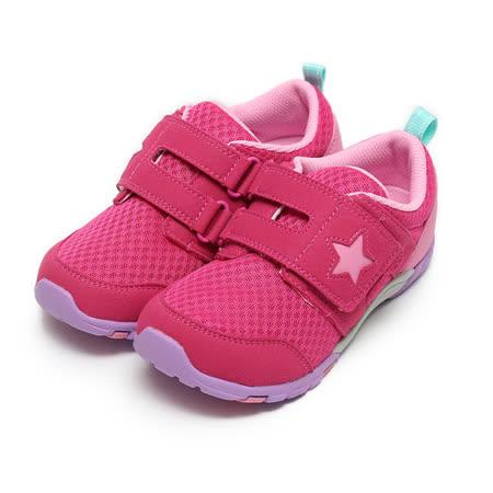 (中大童) MOONSTAR CARROT運動鞋 櫻桃紅 鞋全家福