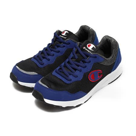 (男) CHAMPION 拚色休閒運動鞋 藍黑紅 鞋全家福