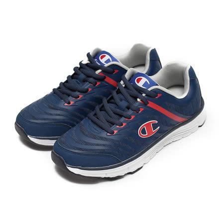 (男) CHAMPION 休閒運動鞋 寶藍紅 鞋全家福