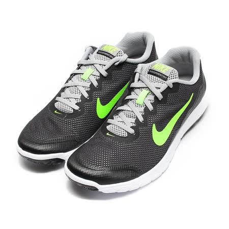 (男) NIKE FLEX EXPERIENCE RN 4 輕量透氣跑鞋 黑綠 鞋全家福
