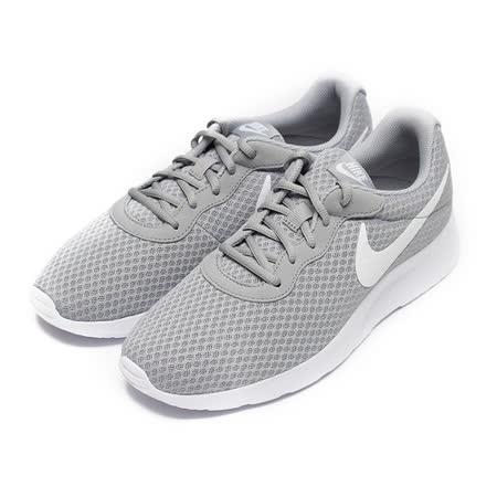 (男) NIKE TANJUN 輕量休閒跑鞋 灰白 鞋全家福