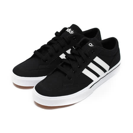 (男) ADIDAS GVP 復古網球鞋 黑白 鞋全家福