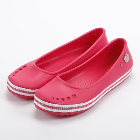 (女) HELLO KITTY 防水夾心便鞋 桃 鞋全家福