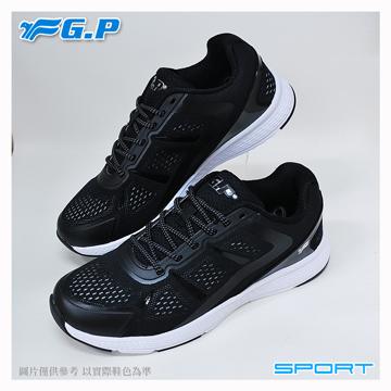 ~G.P 輕量 鞋~P7618M~17 黑灰色 ^(SIZE:39~44 共三色^)