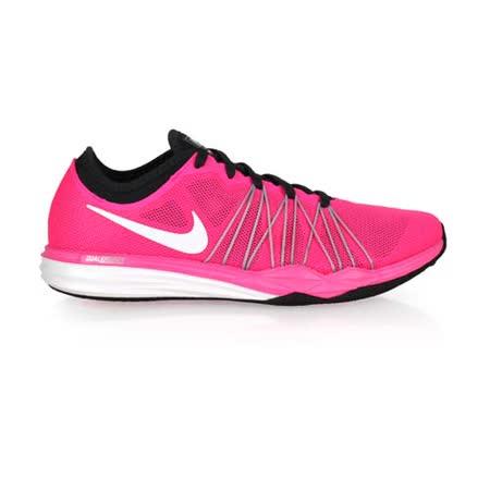 (女) NIKE WMNS DUAL FUSION TR HIT 訓練鞋-慢跑 健身 粉白
