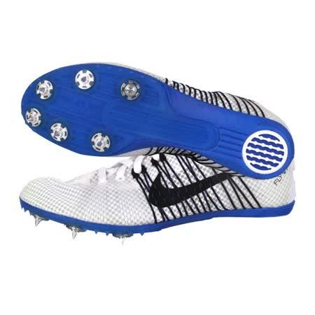 (男女) NIKE ZOOM VICTORY 2 田徑釘鞋 - 中距離 白黑藍