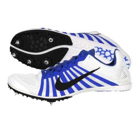 (男女) NIKE ZOOM D 田徑釘鞋 - 中距離 白藍黑