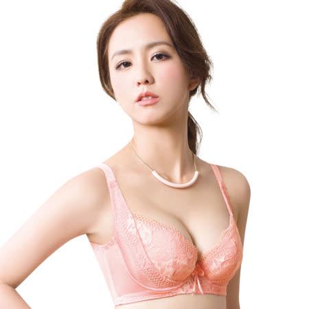 【思薇爾】柔挺美學系列B-G罩蕾絲背心式塑身內衣(霓粉橘)