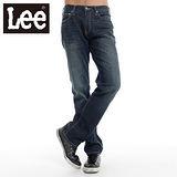 Lee牛仔褲 743 中腰舒適小直筒-男款(二手藍)