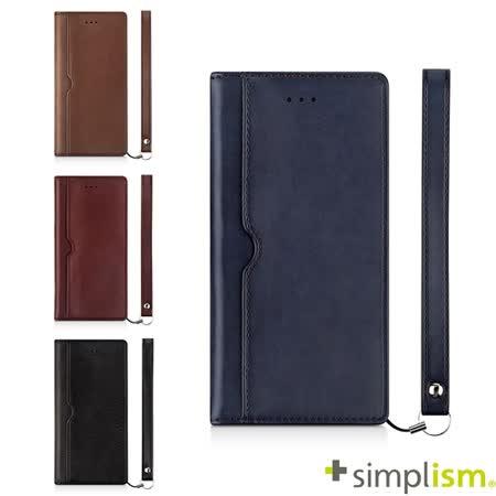 Simplism iPhone7 4.7吋用 記事本型側掀蓋翻皮革保護套