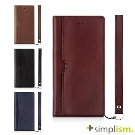 Simplism iPhone7 Plus 5.5吋用 記事本型側掀蓋翻皮革保護套