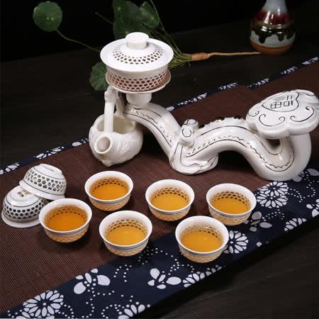 【勸敗】gohappy快樂購物網【The simple Life 】玉如意自動茶具10件組開箱站 前 三越