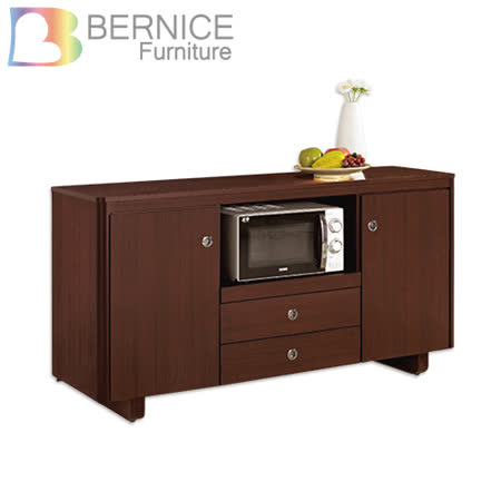 Bernice-泰德5.1尺碗盤收納餐櫃