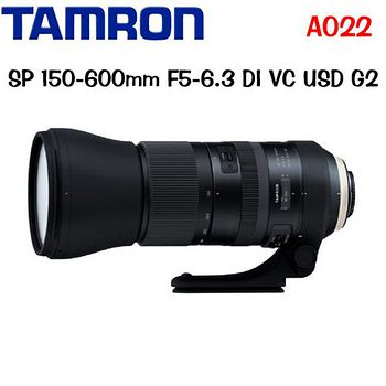 TAMRON SP 150-600mm F5-6.3 DI VC USD G2 A022 (公司貨)