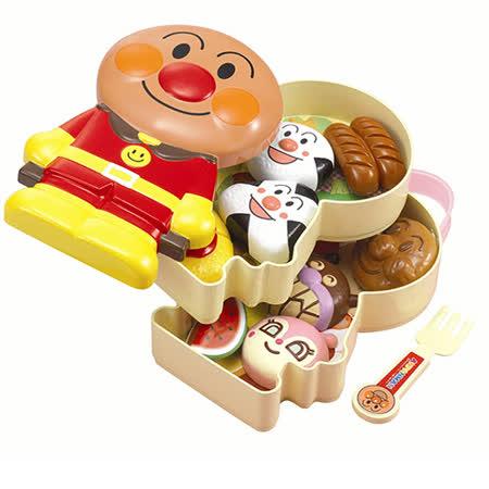 《 麵包超人 》便當提盒組玩具