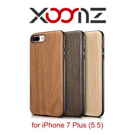 XOOMZ 木紋系列 iPhone 7 Plus 三料合一 手工保護套