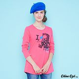 【Olive Oyl奧莉薇】雙口袋修身圓領螺紋上衣(共二色)