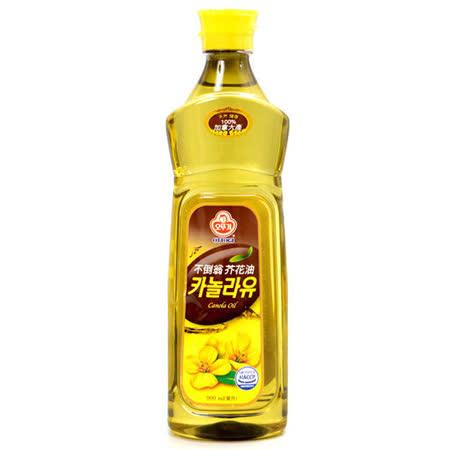 韓國不倒翁 100%純芥花油 900ml