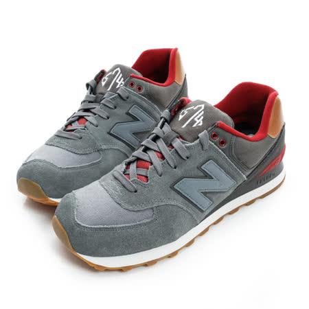 New Balance (女) 經典復古鞋 灰 ML574NEB