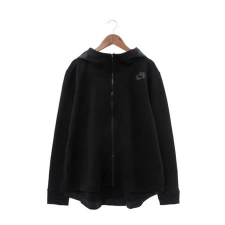 NIKE (女) 棉質--運動外套(連帽) 黑 822147010