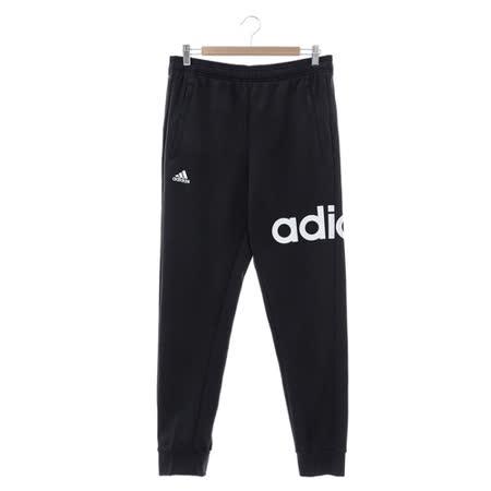 Adidas (男) 運動棉長褲(薄) 黑 AY3693