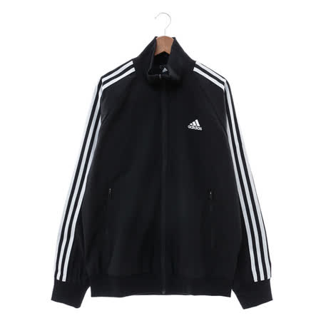 Adidas (男) 棉質--運動外套 黑 AY3772