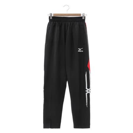 MIZUNO (男) 針織運動套裝 黑紅 32TD658509