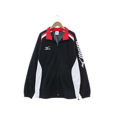 MIZUNO (男) 針織運動套裝 黑白紅 32TC653609