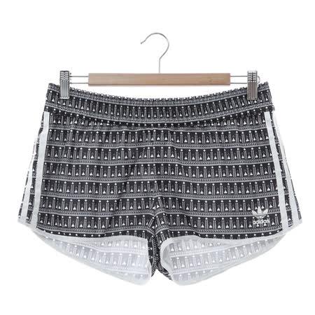 Adidas (女) 運動短褲 灰 AY6878