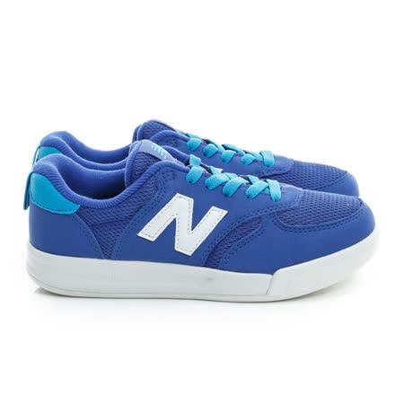 New Balance (童) 經典復古鞋 藍白 KT300GSP
