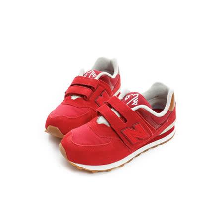 New Balance (童) 經典復古鞋 紅 KV574NJY