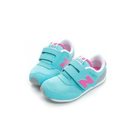 New Balance (童) 經典復古鞋 藍粉 K620API