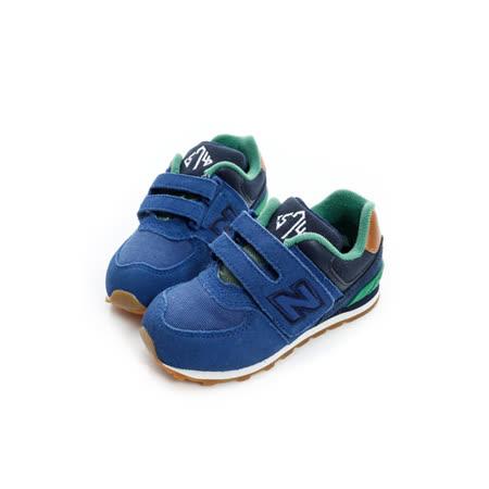 New Balance (童) 經典復古鞋 藍 KV574NEI