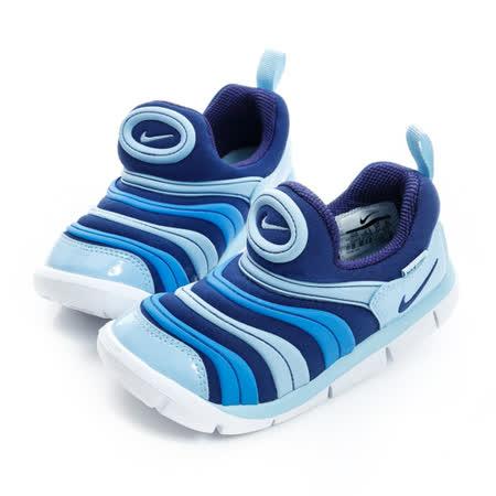 NIKE (童) 經典復古鞋 藍 343938415