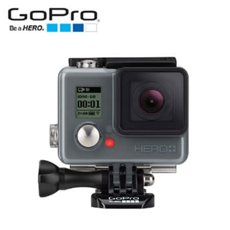 GoPro HERO+LCD 運動攝影機-入門升級版(CHDHB-101-CT)+SP20吋水陸兩用自拍桿+SKULLCANDY阿波羅耳機(隨機)