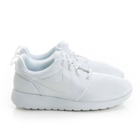 NIKE(男)慢跑鞋 白511881112