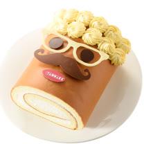 亞尼克生乳捲_歐多桑的笑顏8吋_父親節蛋糕預購