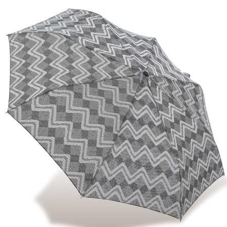【rainstory】幾何曲線抗UV隨身自動傘