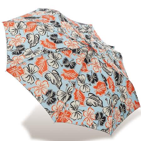 【rainstory】漫遊花舞抗UV隨身自動傘