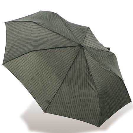 【rainstory】率直條紋抗UV隨身自動傘