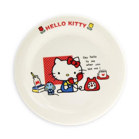 日本金正瓷器 KITTY輕瓷小餐盤