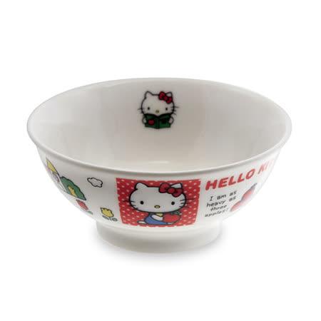 日本金正瓷器 KITTY輕瓷餐碗