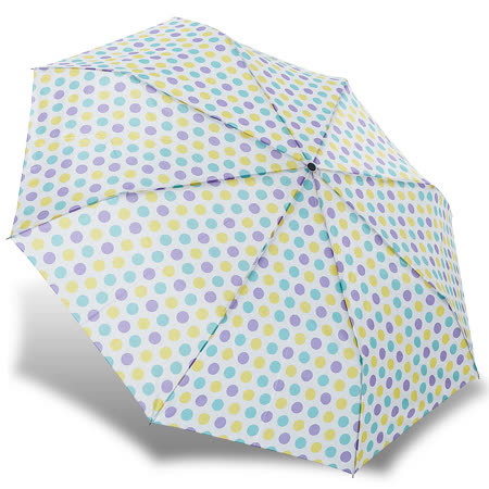 【rainstory】繽紛彩點抗UV隨身自動傘